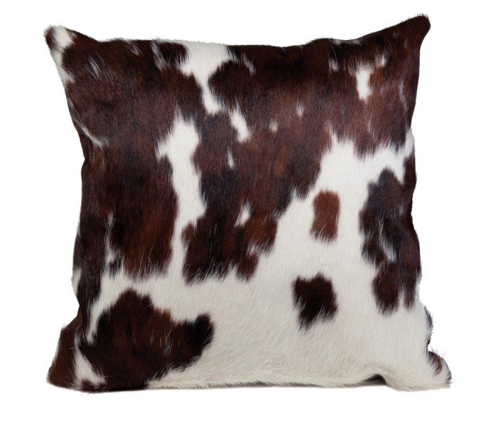 "Bull pelt-pillow ""Normandie"""